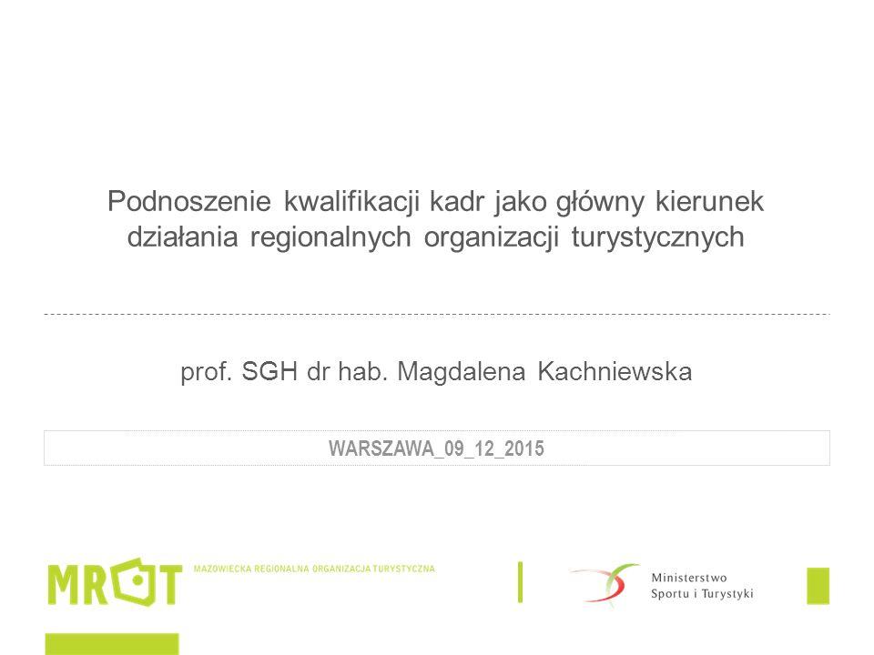 """PROJEKT 2015 Nazwa: """"LUDZIE DLA TURYSTYKI – ROZWÓJ MAZOWIECKICH KADR NA RZECZ ROZWOJU GOSPODARKI TURYSTYCZNEJ W REGIONIE Dofinansowanie: środki Ministerstwa Sportu i Turystyki Czas realizacji: 01.04.-31.12.2015 Cel główny: Celem głównym realizacji zadania jest wzmocnienie i poprawa jakości funkcjonowania kadr działających na rzecz rozwoju turystyki poprzez organizację spotkań szkoleniowo-warsztatowych."""