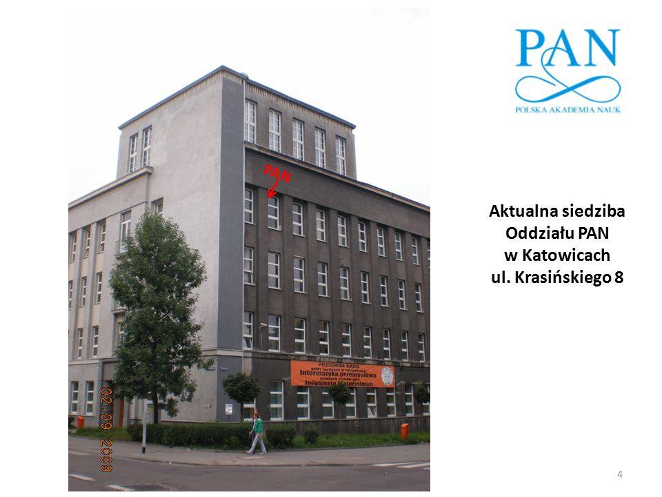 Jubileusz 40-lecia działalności Oddziału PAN w Katowicach 35