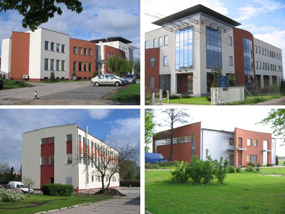 Główne działy Parku 1.Centrum Zaawansowanych Technologii Chemicznych -Inkubator Technologii Chemicznych -Laboratorium Aparaturowe 2.