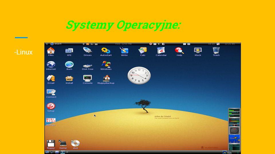 Systemy Operacyjne: -Mac Os