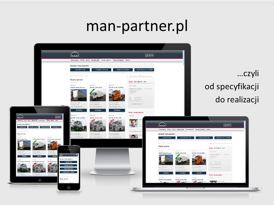 man-partner.pl …czyli od specyfikacji do realizacji