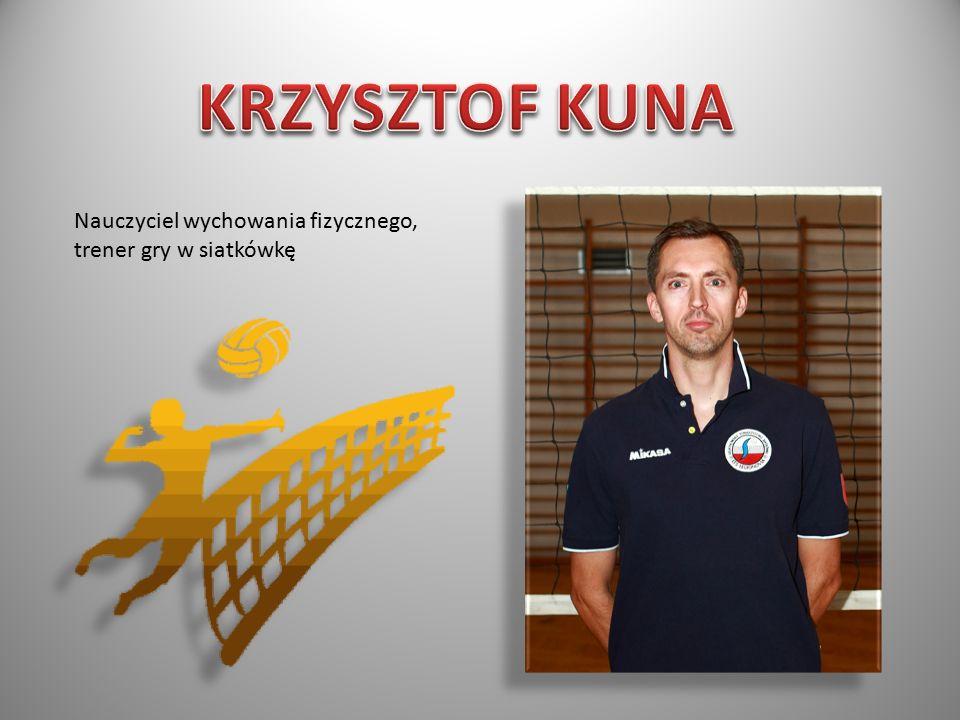 Nauczyciel wychowania fizycznego, trener gry w siatkówkę