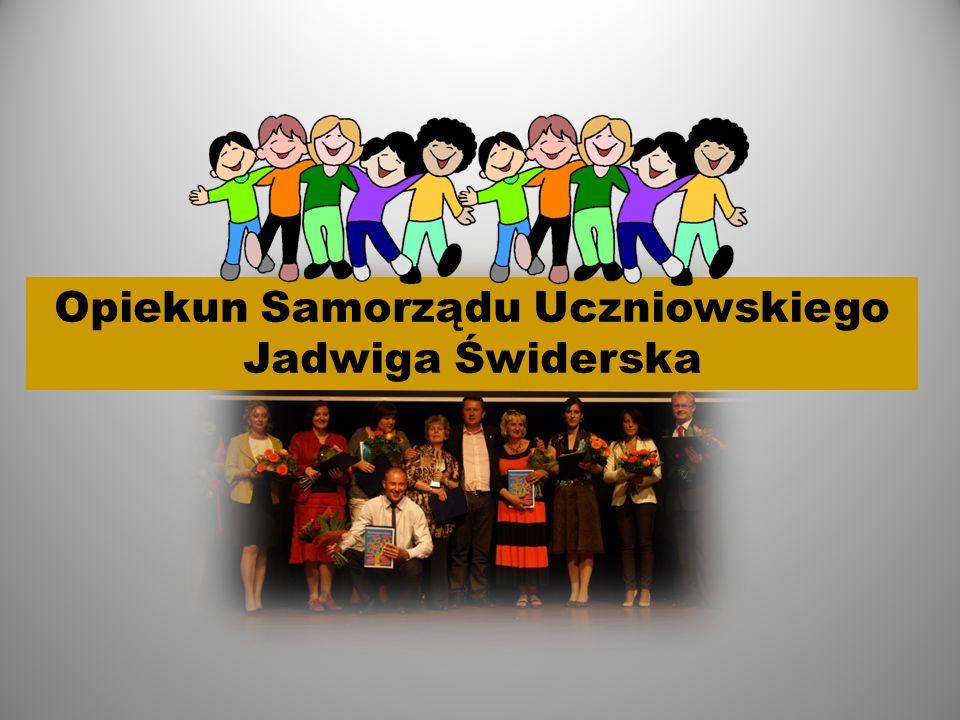 Opiekun Samorządu Uczniowskiego Jadwiga Świderska