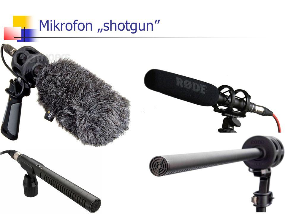 """Mikrofon """"shotgun"""""""