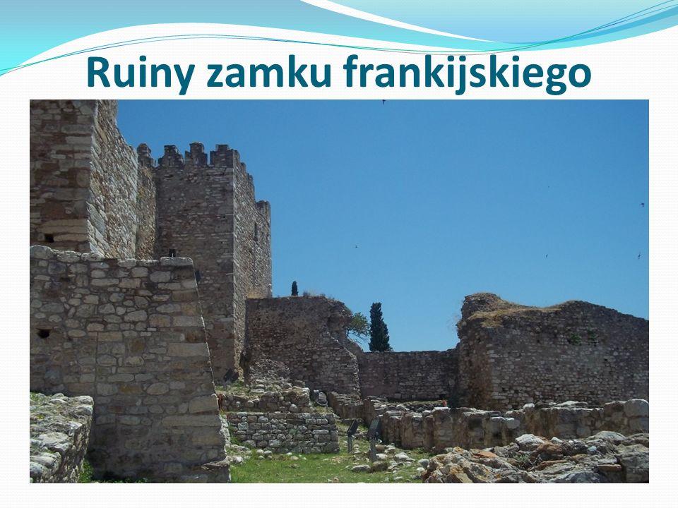 Ruiny zamku frankijskiego