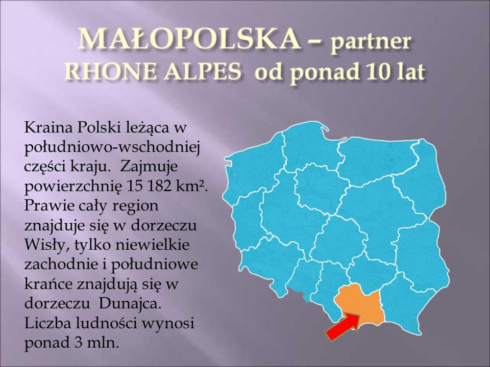 Kraina Polski leżąca w południowo-wschodniej części kraju.