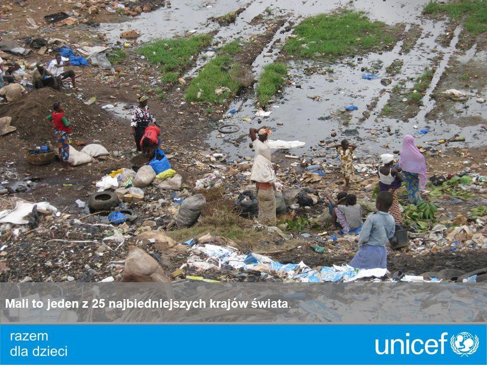 Mali to jeden z 25 najbiedniejszych krajów świata.