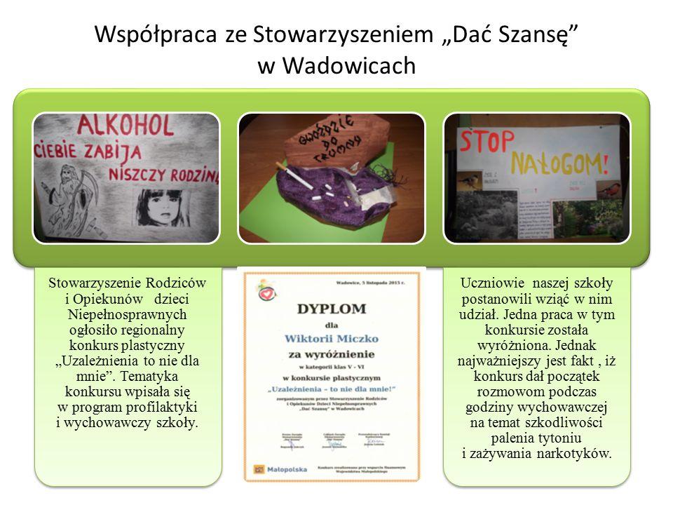"""Stowarzyszenie Rodziców i Opiekunów dzieci Niepełnosprawnych ogłosiło regionalny konkurs plastyczny """"Uzależnienia to nie dla mnie ."""
