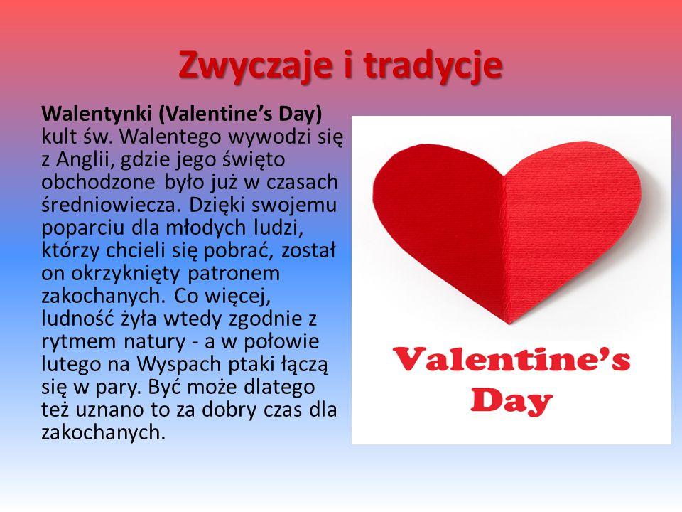 Walentynki (Valentine's Day) kult św.