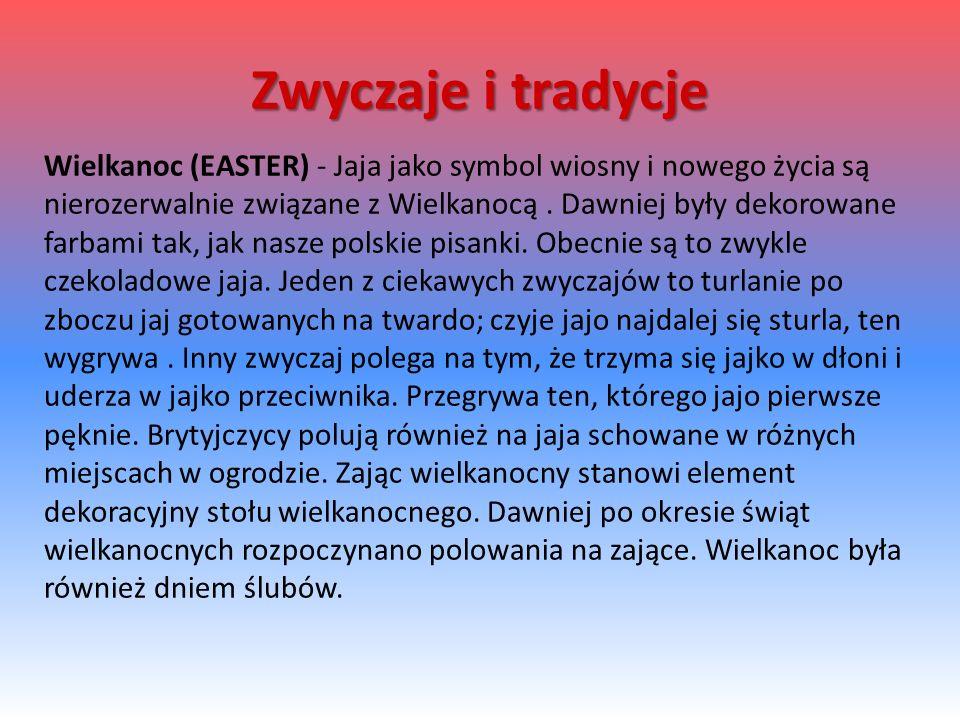 Wielkanoc (EASTER) - Jaja jako symbol wiosny i nowego życia są nierozerwalnie związane z Wielkanocą.