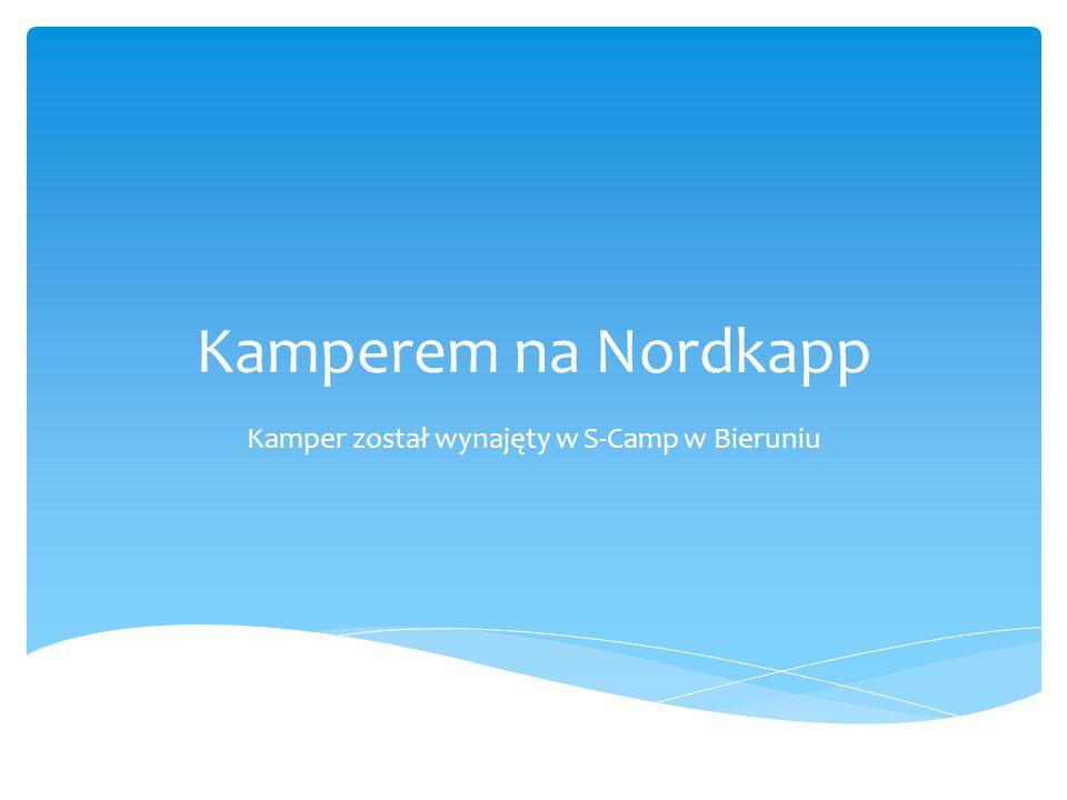 Nordkapp – Norwegia Z Nordkappu do bieguna północnego jest już tylko 2100 km, a z Warszawy przebyliśmy drogę ok.