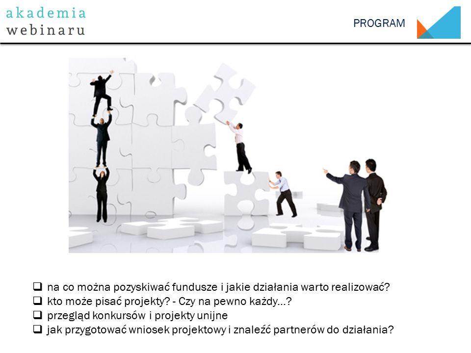 PROGRAM  na co można pozyskiwać fundusze i jakie działania warto realizować.