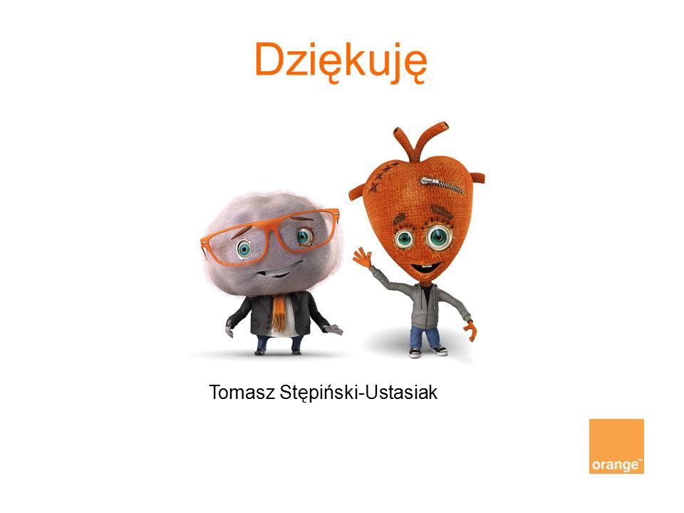 Dziękuję Tomasz Stępiński-Ustasiak