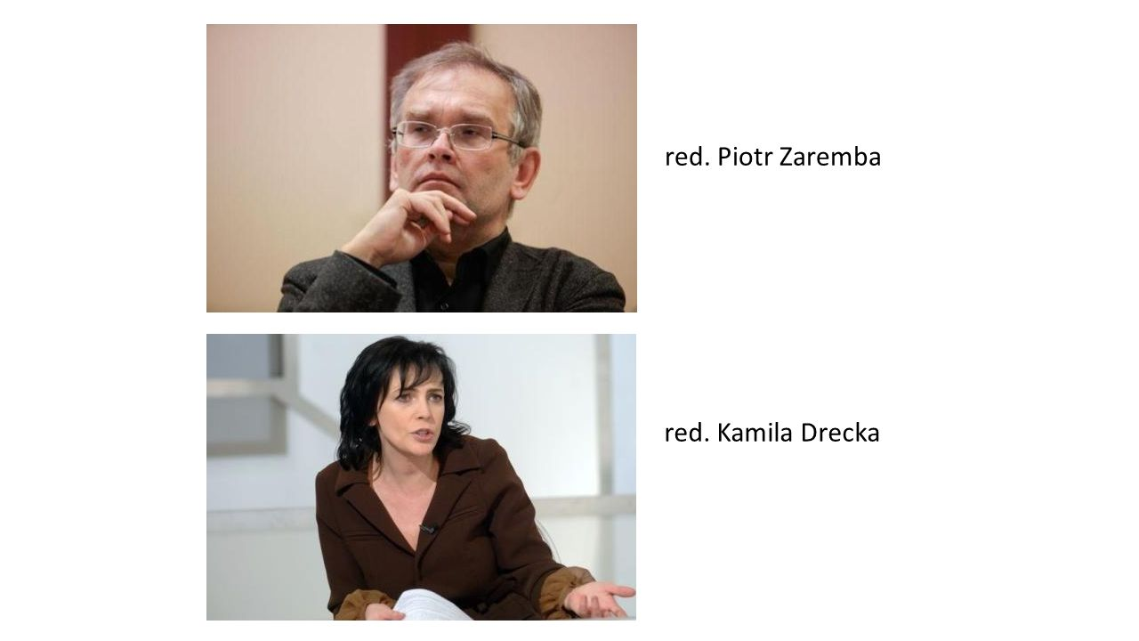 red. Tomasz Zimoch red. Jarosław Kuźniar