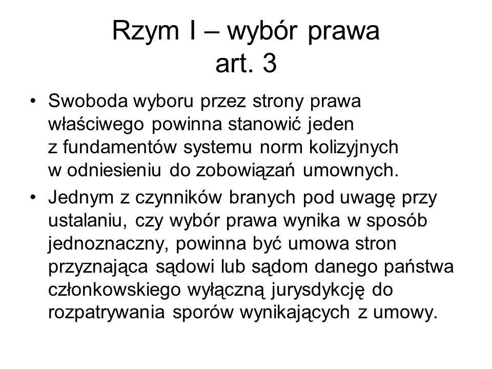 Rzym II Artykuł 4 Zasada ogólna 1.