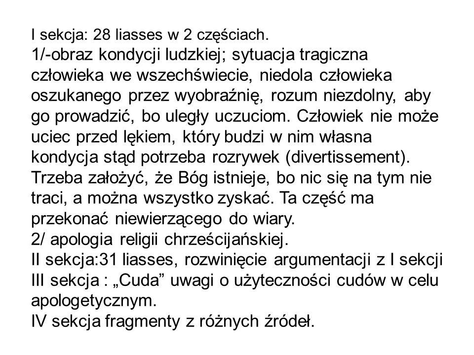I sekcja: 28 liasses w 2 częściach.