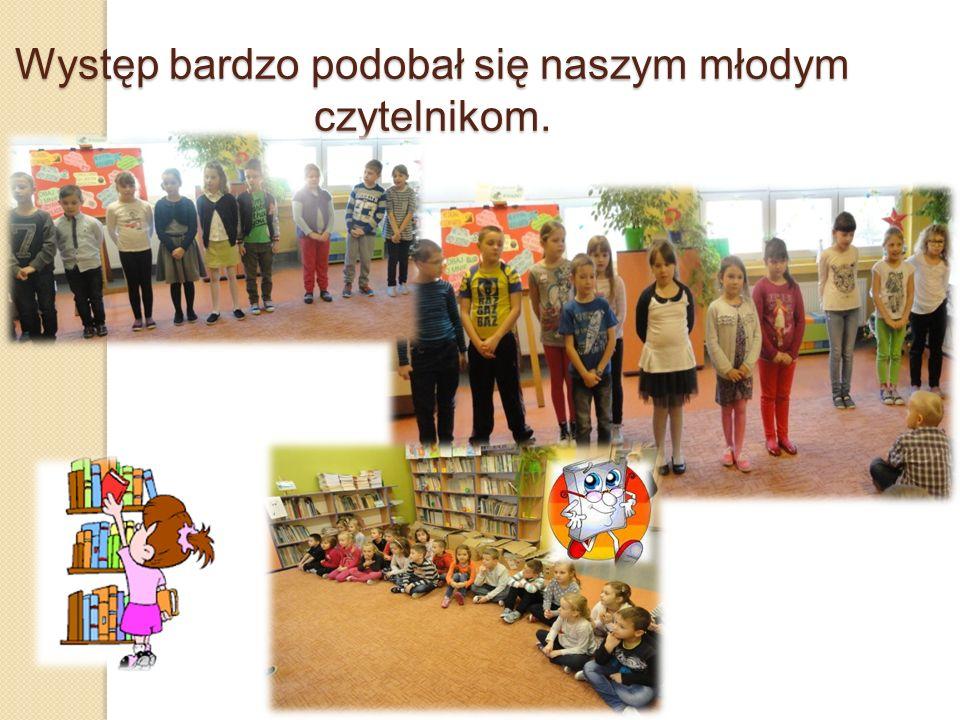 Występ bardzo podobał się naszym młodym czytelnikom.