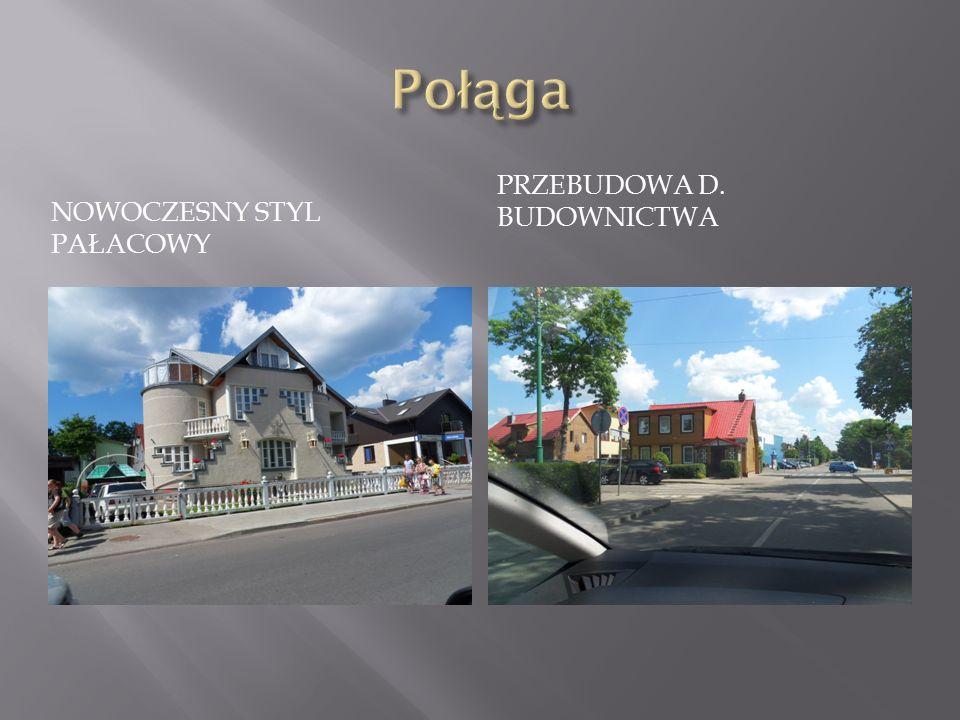 NOWOCZESNY STYL PAŁACOWY PRZEBUDOWA D. BUDOWNICTWA