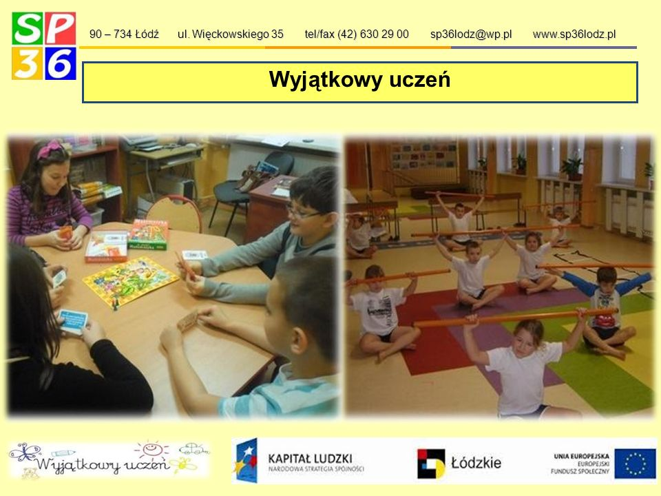 """""""My i nasz świat… 90 – 734 Łódź ul."""