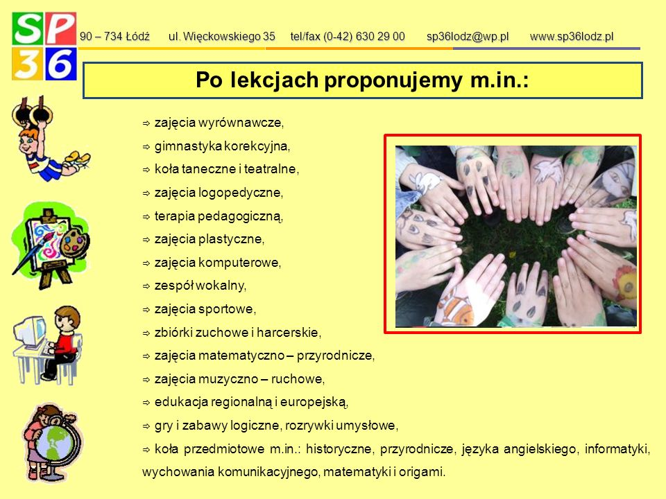 Współpraca z zagranicą - Ukraina 90 – 734 Łódź ul.