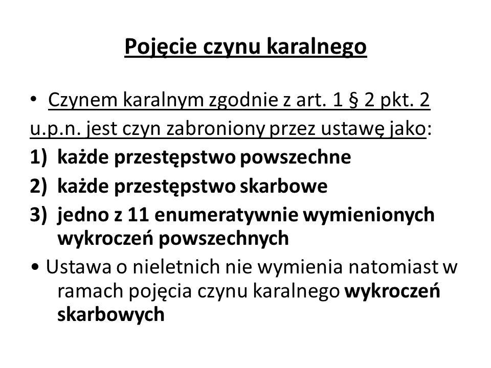 Środki leczniczo-wychowawcze: j) inne środki zastrzeżone w ustawie o nieletnich 1) w myśl art.
