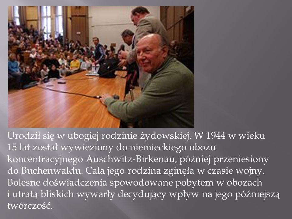 Urodził się w ubogiej rodzinie żydowskiej. W 1944 w wieku 15 lat został wywieziony do niemieckiego obozu koncentracyjnego Auschwitz-Birkenau, później