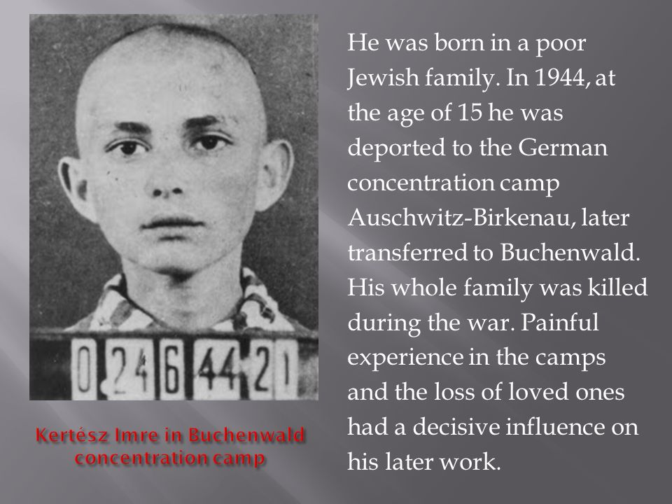 He was born in a poor Jewish family.