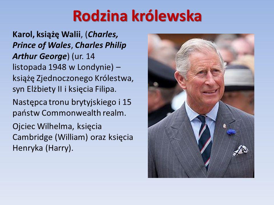 Rodzina królewska Karol, książę Walii, (Charles, Prince of Wales, Charles Philip Arthur George) (ur.