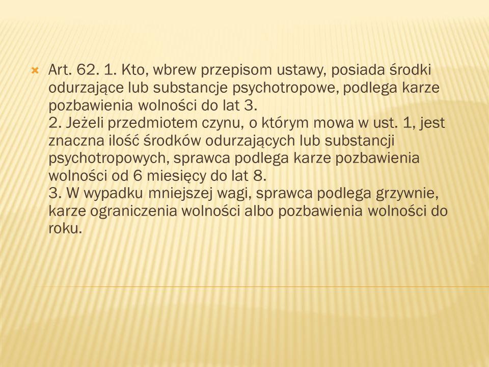  Art. 62. 1.