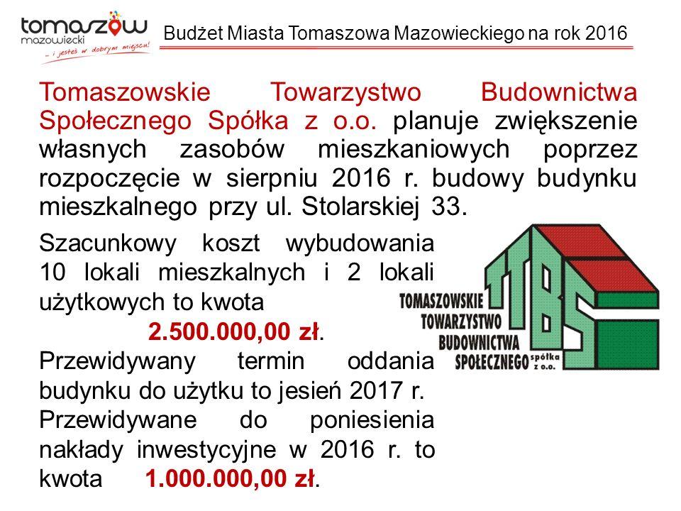 Tomaszowskie Towarzystwo Budownictwa Społecznego Spółka z o.o.