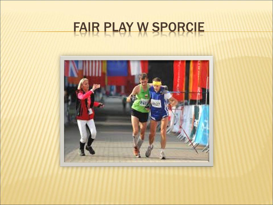 Pojęcie fair play można interpretować trzema drogami: pierwsza odnosząca się do etyki rycerskiej i dżentelmeńskiej, rozumiana jako przestrzeganie przepisów gry, poszanowanie przeciwnika, szlachetna walka, niewykorzystanie przewagi losowej w celu zwycięstwa.
