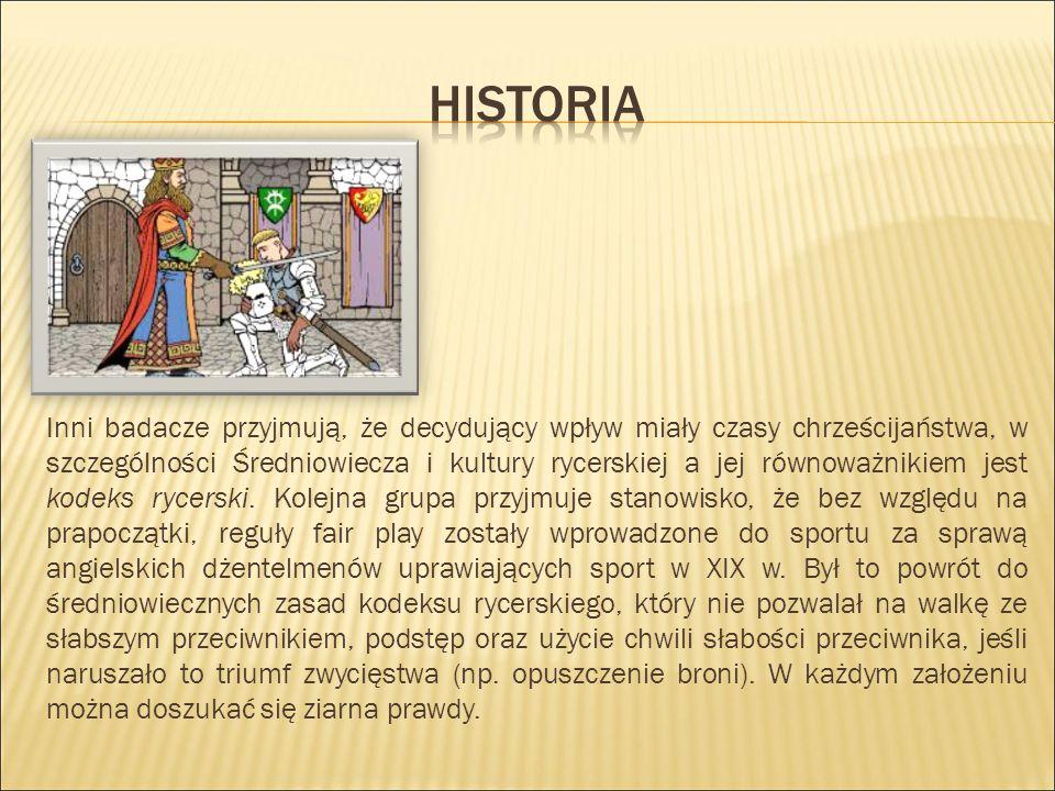 Inni badacze przyjmują, że decydujący wpływ miały czasy chrześcijaństwa, w szczególności Średniowiecza i kultury rycerskiej a jej równoważnikiem jest kodeks rycerski.
