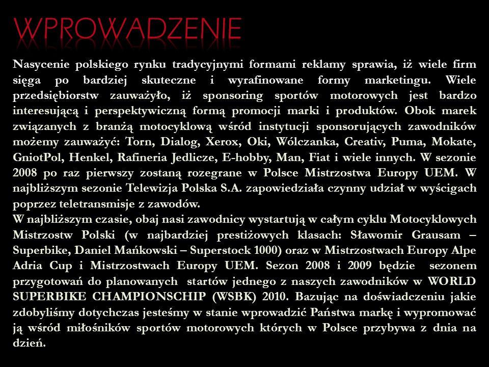 Rozwój motoryzacji i sportów motocyklowych w Polsce nabiera coraz większej dynamiki. Zauważyć można wzrastające zainteresowanie mediów i kibiców wyści