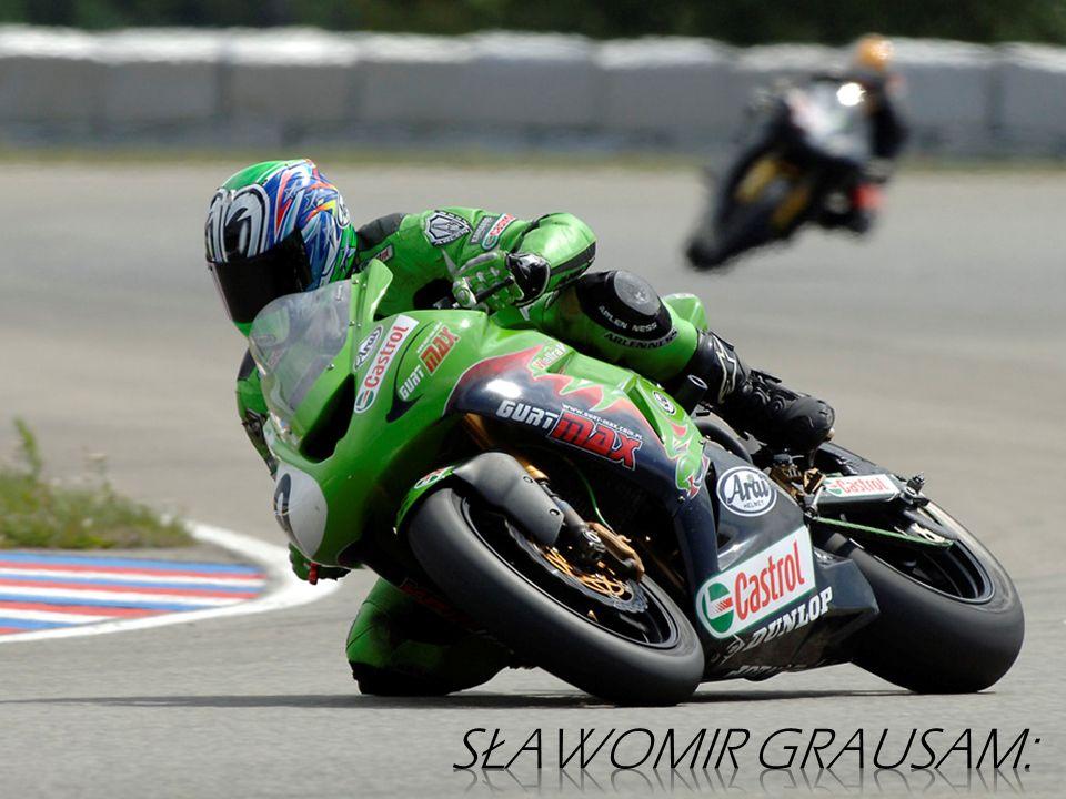 Członek Motocyklowej Kadry Narodowej. Sezon 2007 zakończył na 4 miejscu.