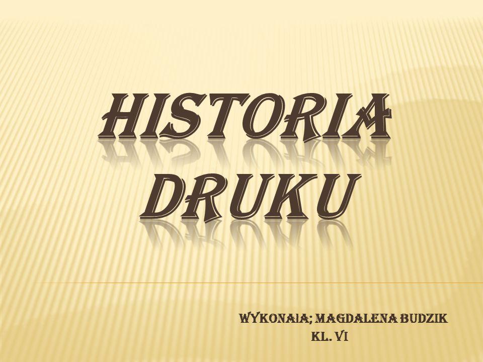 Historia pisania i drukowania jest ściśle związana z historią ludzkiej komunikacji.
