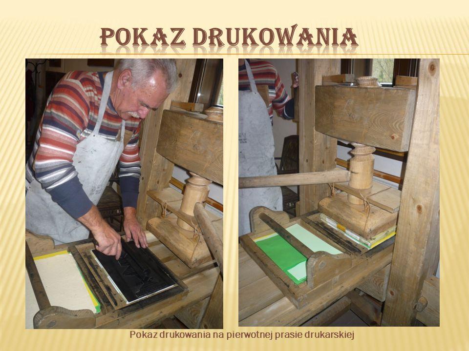 Z biegiem czasu zaczęto tworzyć bardzo rozbudowane prasy drukarskie.