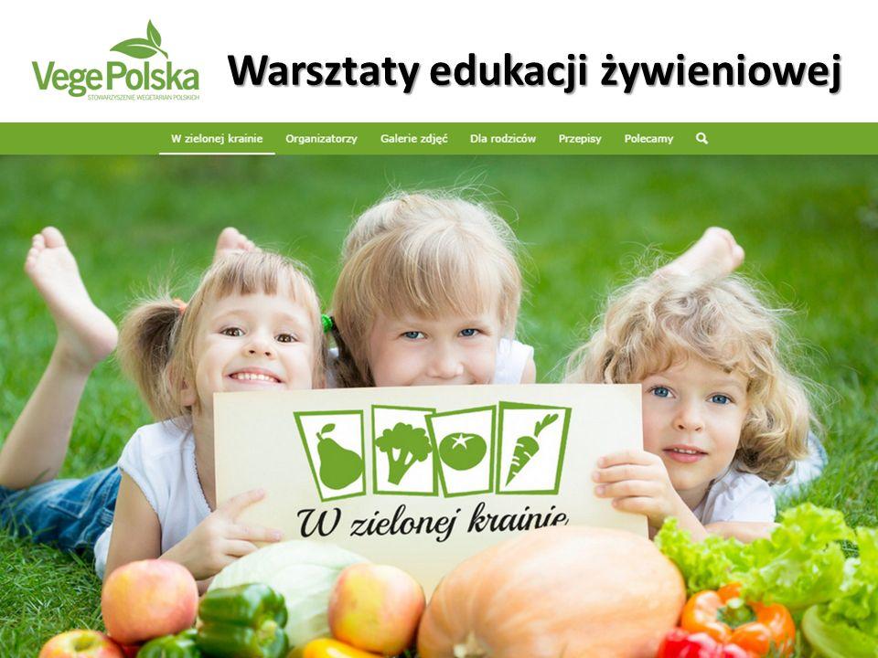 … wszyscy dostają ulotkę z przepisami na wegańskie dania przygotowywane podczas warsztatów, by móc je przyrządzić z rodzicami w domu