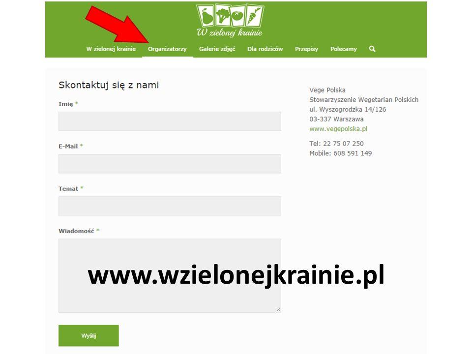 www.wzielonejkrainie.pl