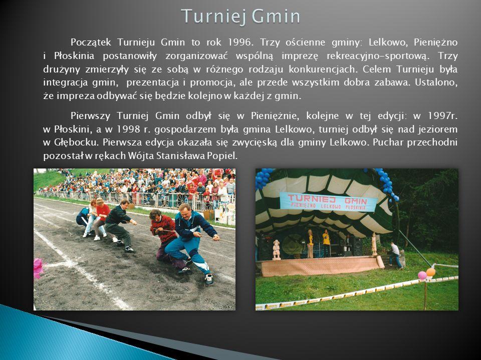 Początek Turnieju Gmin to rok 1996.