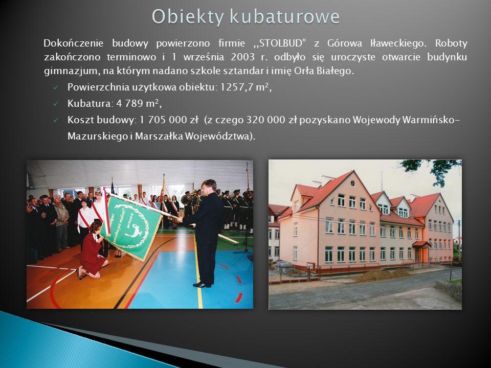 Dokończenie budowy powierzono firmie,,STOLBUD z Górowa Iławeckiego.