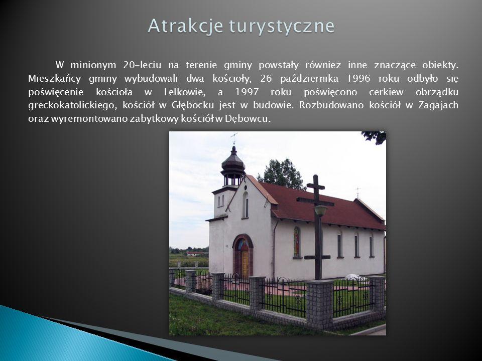 W minionym 20-leciu na terenie gminy powstały również inne znaczące obiekty.
