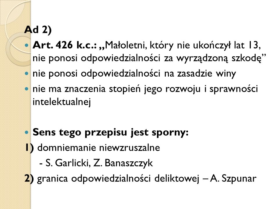 Ad 2) Art.