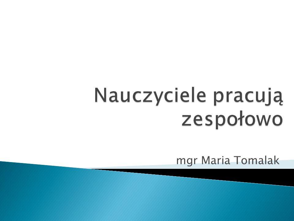 mgr Maria Tomalak