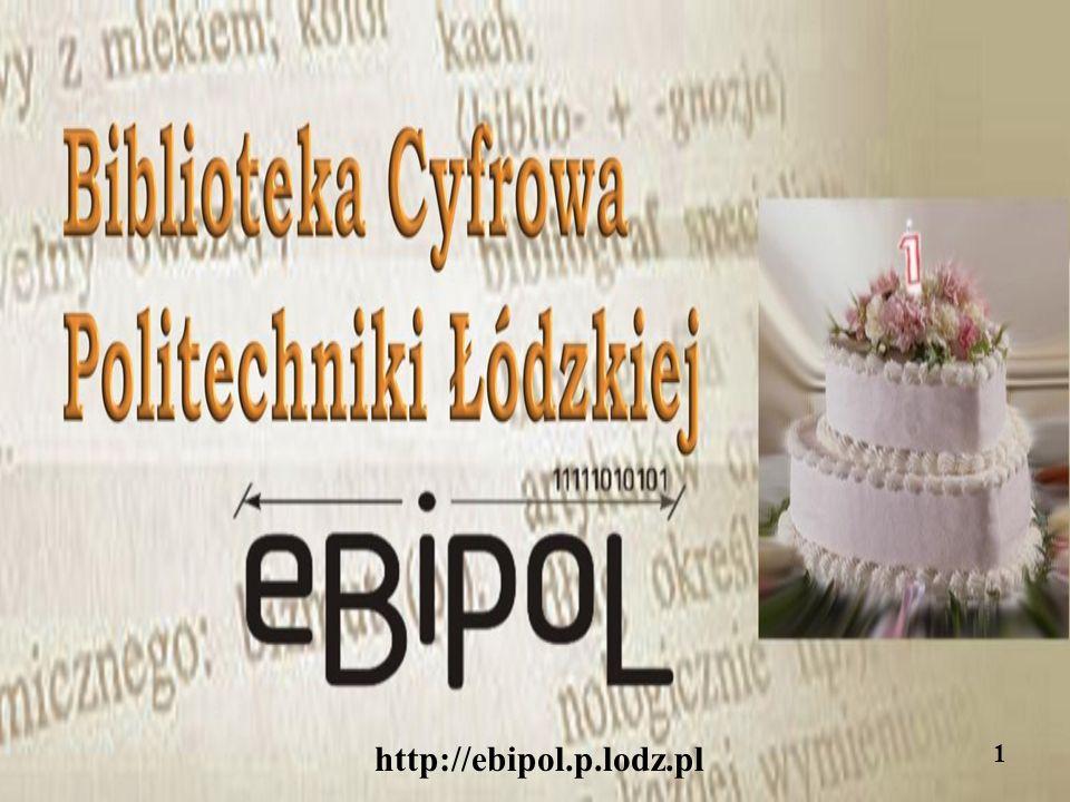http://ebipol.p.lodz.pl 12 Statystycznie rzecz ujmując jesteśmy dla Was: 12 miesięcy w roku 52 tygodnie 365 (a co 4 lata nawet 366!) dni 8760 (8784) godziny 525600 (527040) minut 31 536 000 (31 622 400) sekund...