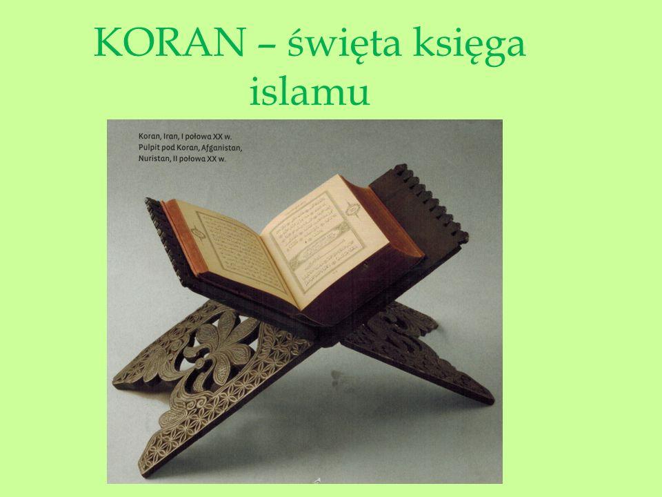 Pierwsze karty Koranu, z ozdobnymi ornamentami.Pismo, naturalnie, arabskie.