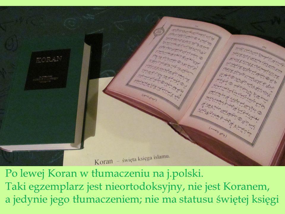 """Samo słowo """"koran , arabskie """"Al-Quran oznacza czytanie, recytację."""