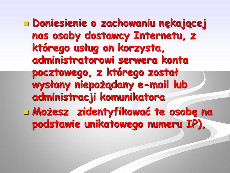 """W przypadku złamania prawa przez """"żartownisia (np."""