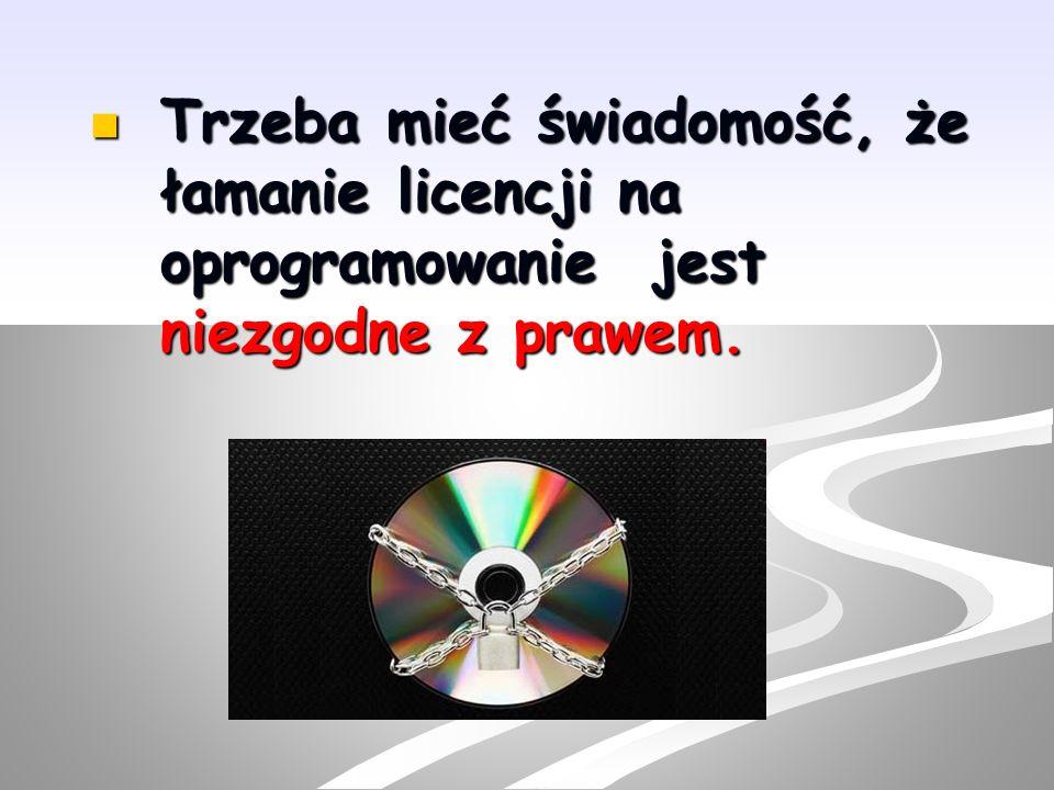 Trzeba też pamiętać o przestrzeganiu praw autorskich.