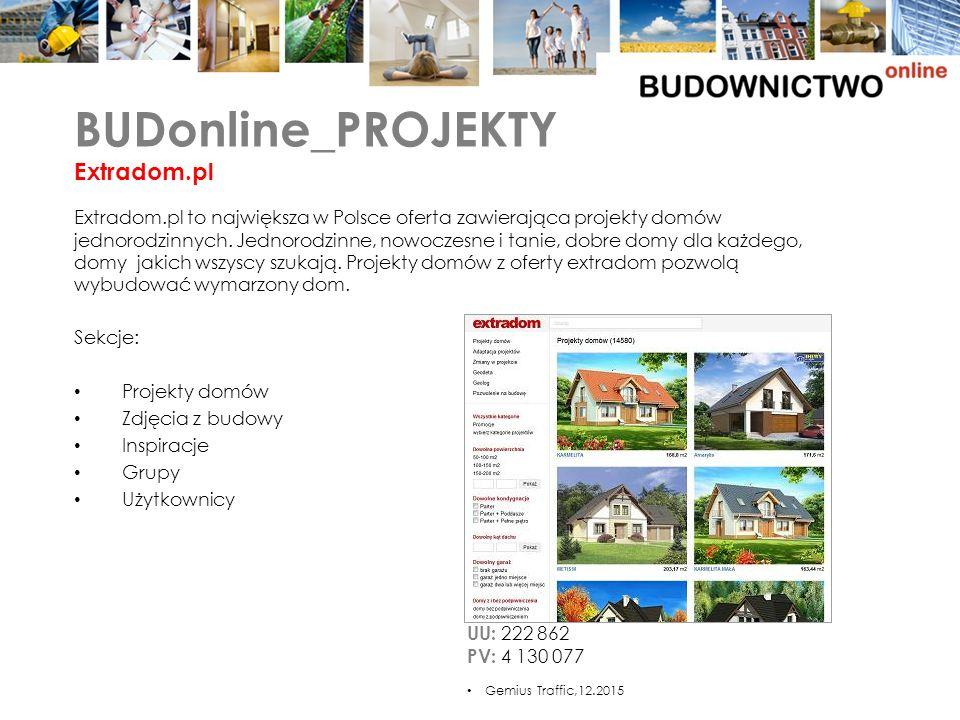 Extradom.pl to największa w Polsce oferta zawierająca projekty domów jednorodzinnych.