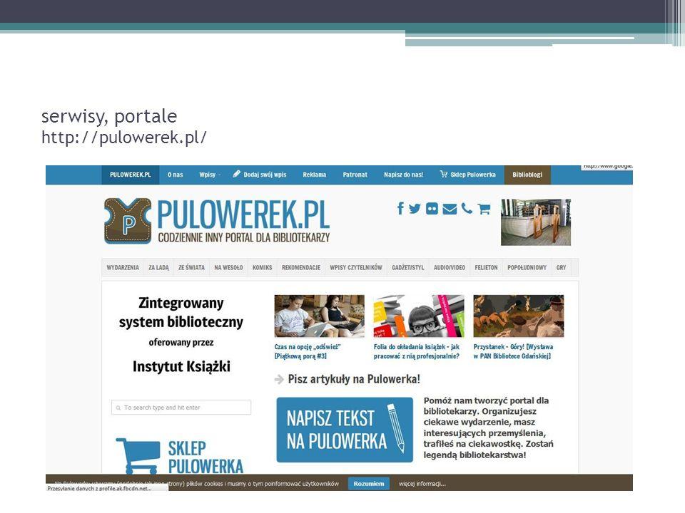 serwisy, portale http://pulowerek.pl/
